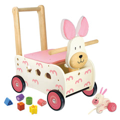 I'm Toy Walk and Ride Rabbit Sorter Side View
