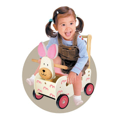 I'm Toy Walk and Ride Rabbit Sorter Girl Riding
