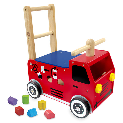 I'm Toy Walk & Ride Fire Engine Sorter