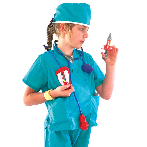 Surgeon Green Scrubs Medical Costume