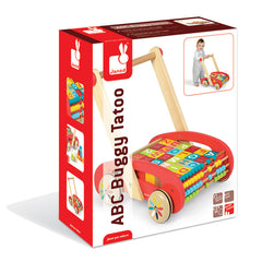 Janod ABC Buggy Walker  Packaging