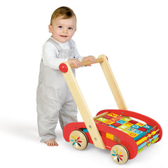 Janod ABC Buggy Walker  with Baby