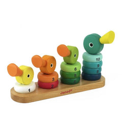 Janod Wooden Duck Family Stacking Toy 3
