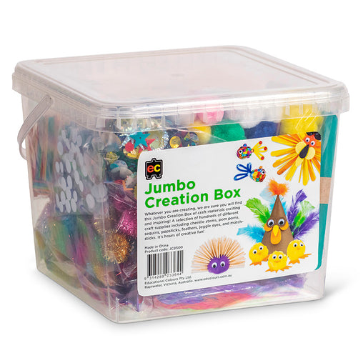 Educational Colours Jumbo Creations Box