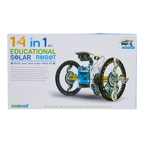 Johnco 14 in 1 Educational Solar Robot Kit Box