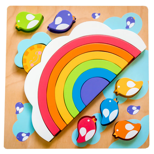 Kiddie Connect Large Sun and Rainbow PuzzleLarge Sun and Rainbow Puzzle