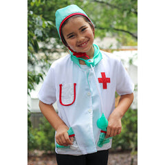Kiddie Connect Doctor Costume Girl