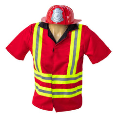 Kiddie Connect Firefighter Costume Helmet