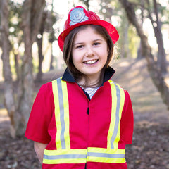 Kiddie Connect Firefighter Costume Girl