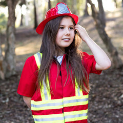 Kiddie Connect Firefighter Costume Girl 2