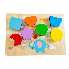 Kiddie Connect Wooden Chunky Balloon Shape Puzzle 2