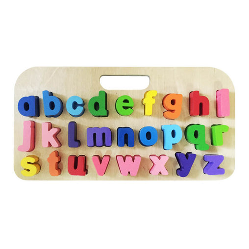 Kiddie Connect Carry Around Lower Case Letters Puzzle