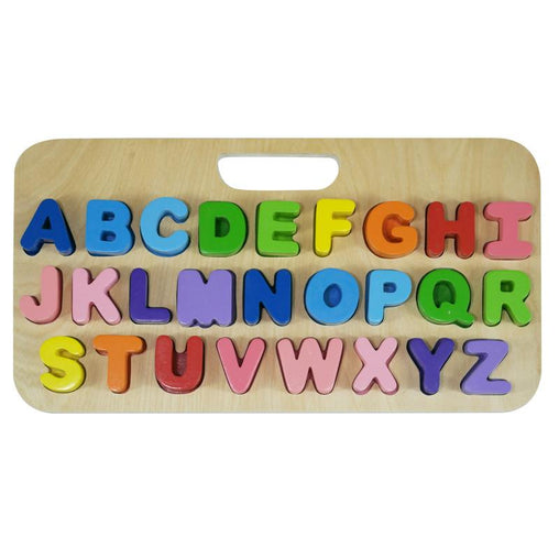 Kiddie Connect Carry Around Upper Case Letters Puzzle