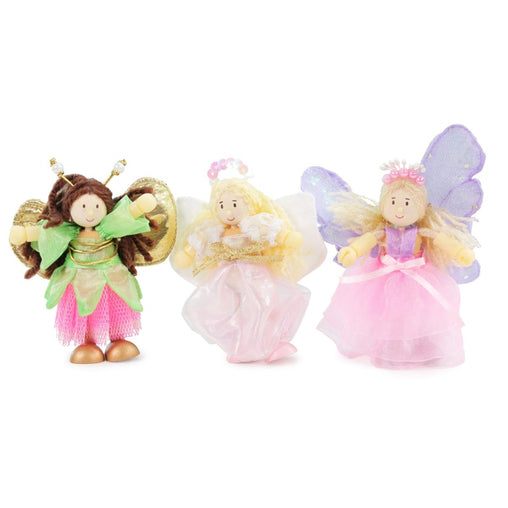 Le Toy Van Budkins Doll Fairy Set