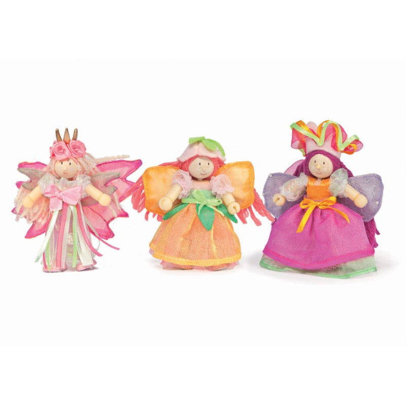 Le Toy Van Budkins Doll Garden Fairy Set