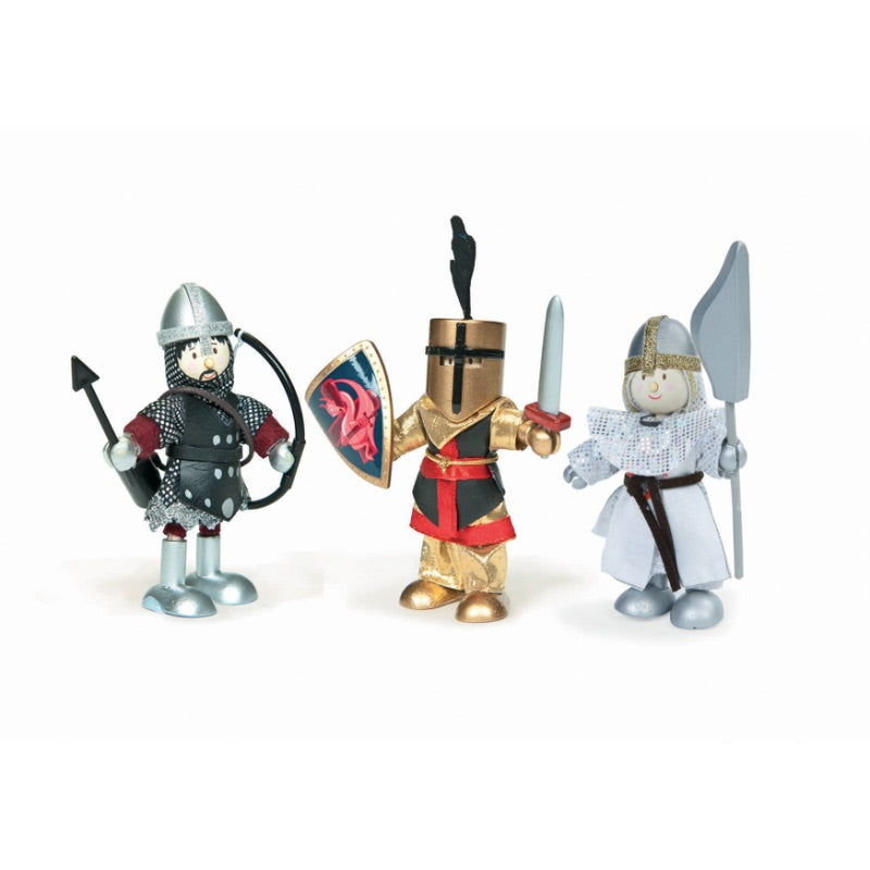 Le Toy Van Budkins Doll Knight Set