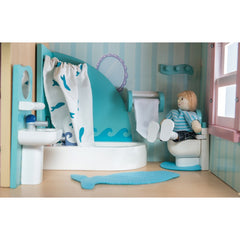 Le Toy Van Sugar Plum Bathroom in Doll House