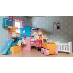 Le Toy Van Sugar Plum Child Bedroom in Doll House