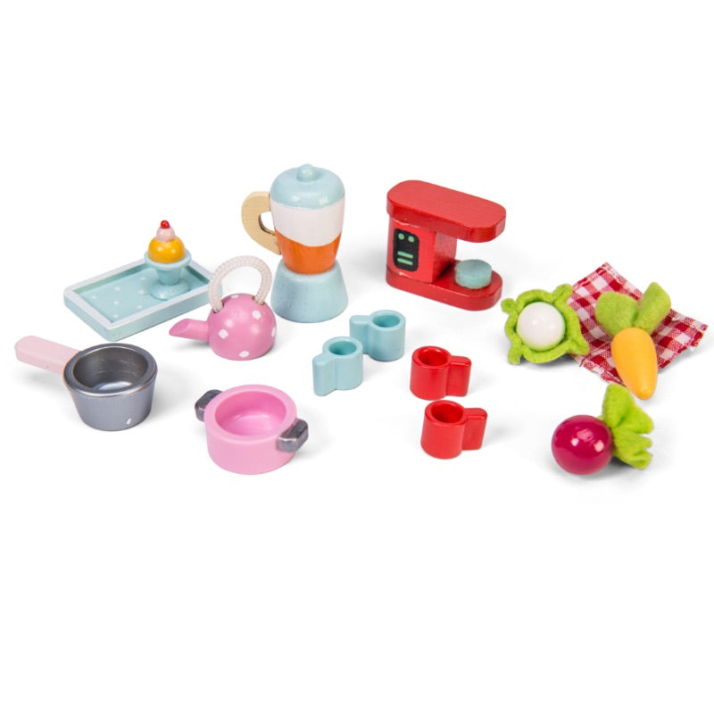 Le Toy Van Daisy Lane Tea Time Kitchen Accessory Pack