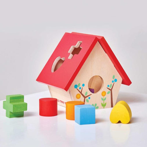 Le Toy Van Petilou My Little Bird House Shape Sorter