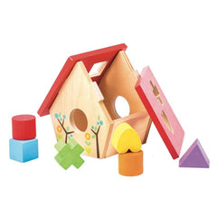 Le Toy Van Petilou My Little Bird House Shape Sorter Pieces