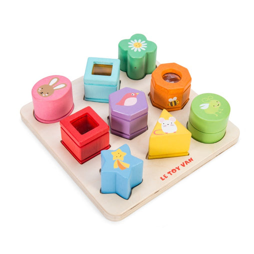 Le Toy Van Petilou Sensory Shapes Matching Board