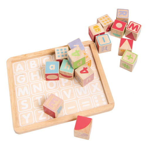 Le Toy Van Petilou ABC Blocks Tray