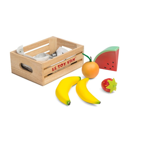 Le Toy Van Honeybake Market Wooden Play Food Fruit Crate