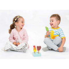 Le Toy Van Honeybake Ice Lollies Boy and Girl