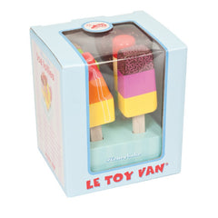 Le Toy Van Honeybake Ice Lollies Packaging