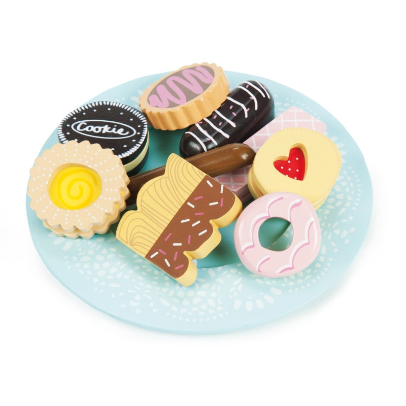 Le Toy Van Honeybake Biscuits & Plate Set
