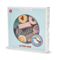 Le Toy Van Honeybake Biscuits & Plate Set Packaging