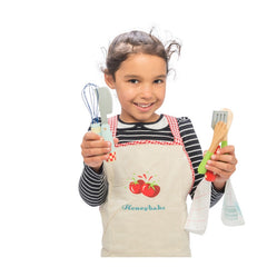 Le Toy Van Honeybake Apron & Utensil Set Girl