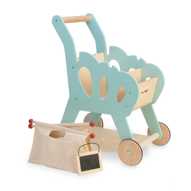 Le Toy Van Honeybake Shopping Trolley Cart