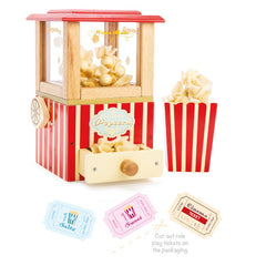 Le Toy Van Honeybake Play Food Popcorn Machine with Tickets