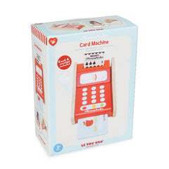 Le Toy Van Honeybake Card Machine Packaging
