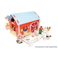 Le Toy Van Red Barn Animals