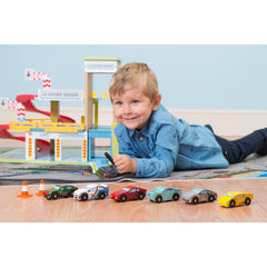 Le Toy Van Monte Carlo Sports Car Set Boy Playing
