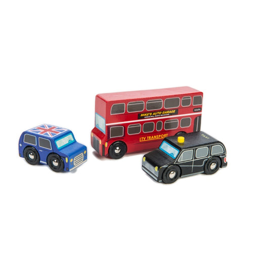 Le Toy Van London Vehicles Car Set