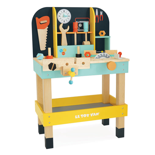 Le Toy Van Alex's Wooden Work Bench with Tools