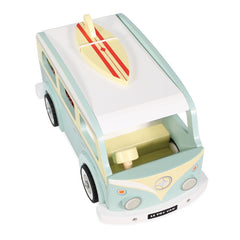Le Toy Van Holiday Campervan Top View Roof Surfboard