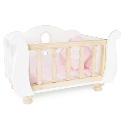 Le Toy Van Honeybake Cot Sleigh Side Up