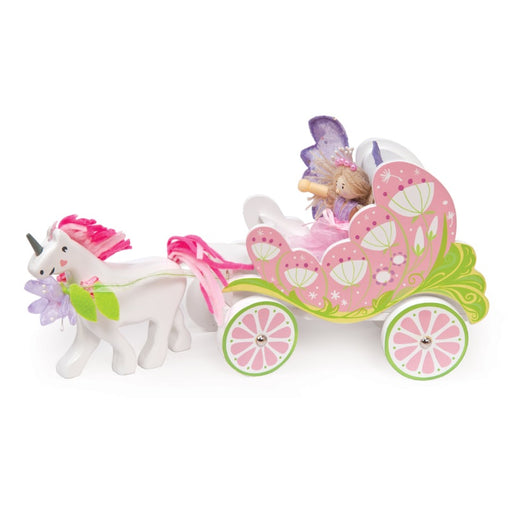 Le Toy Van Fairybelle Carriage and Unicorn
