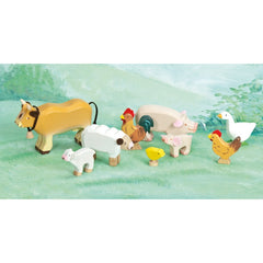 Le Toy Van Sunny Farm Animals Mountains