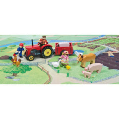 Le Toy Van Sunny Farm Animals Farm Background