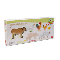 Le Toy Van Sunny Farm Animals Packaging