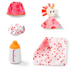 Lilliputiens Baby Louise and Carry Cot Accessories