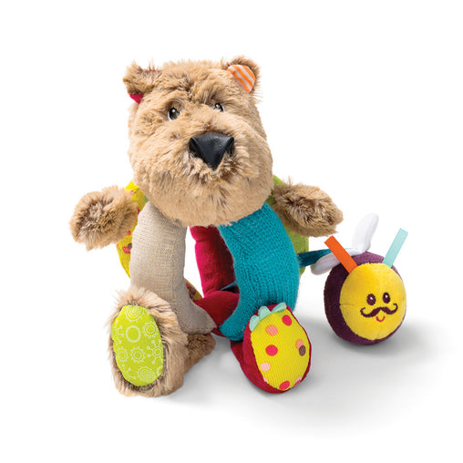 Lilliputiens Cesar Bear Hand Rattle