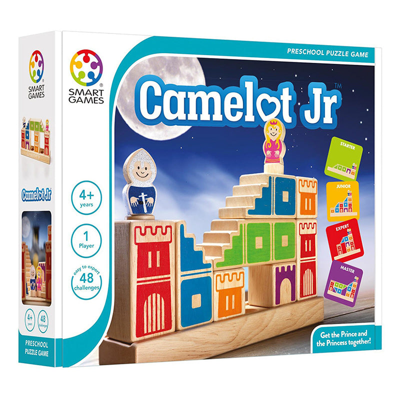 Smart Games Camelot Junior Multi Level Logic Puzzle Packaging