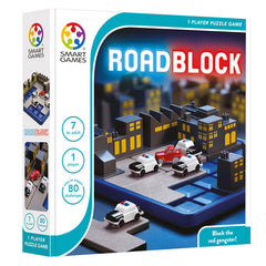 Smart Games Road Block Single Player Multi Level Logic Puzzle Challenge Packaging